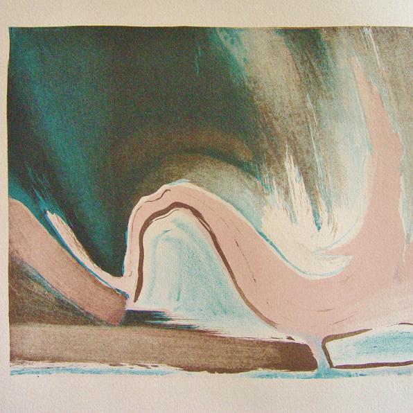 steendruk - geen titel 22 x 26 cm