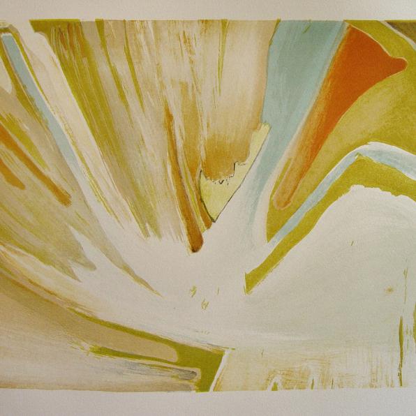 steendruk - geen titel 31 x 39 cm