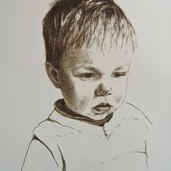 steendruk - Koen 29 x 20 cm