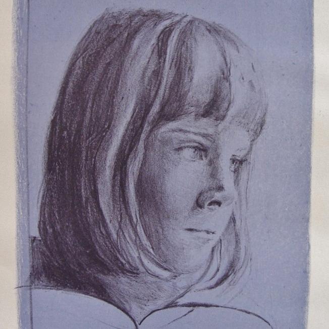 steendruk - Saskia 24 x 19 cm