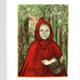 steendruk - Roodkapje 21 x 15 cm