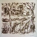 steendruk Antje Sonnenschein - 38 x 53 cm